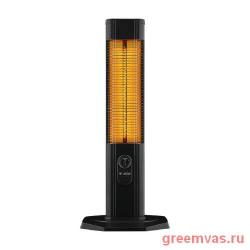Инфракрасный обогреватель Luxeva LXV 2000-TS, напольный, влагозащищенный, карбоновый, высота — 96 см, ширина — 40.5 см,  толщина — 35.7 см