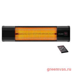 Обогреватель инфракрасный Luxeva LXV 2500-HR карбоновый, уличный, влагозащищенный, настенный, высота — 18.5 см, ширина — 81 см, толщина — 11 см