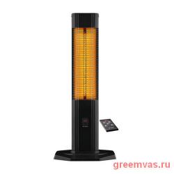 Ик обогреватель Luxeva LXV 2500-VR,  карбоновый, алюминиевый, черный, переносной