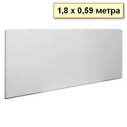 Обогреватель инфракрасный СТЕП панельный, высота — до 3 метров, цвет — белый, гарантия — 12 лет, длина — 180 см