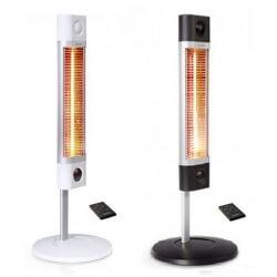Обогреватель инфракрасный Veito CH1800 RE, карбоновый, напольный, белый, чёрный, длина — 40 см