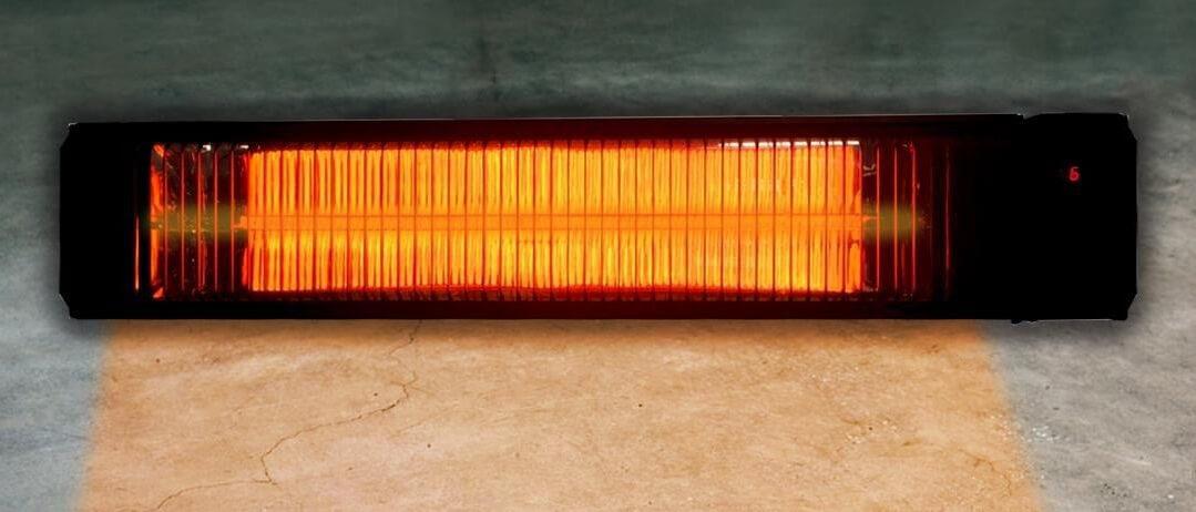 Инфракрасный обогреватель Пион Термоглас Керамика 04, цвет — белый и бежевый,  длина — 80 см, ширина — 12 см