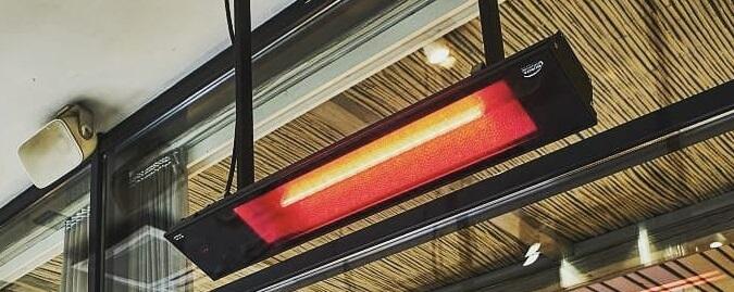 Инфракрасный обогреватель Пион Термо Глас кристалл 13, стеклянный, длина — 80.5 см, ширина — 37.5 см, под потолок