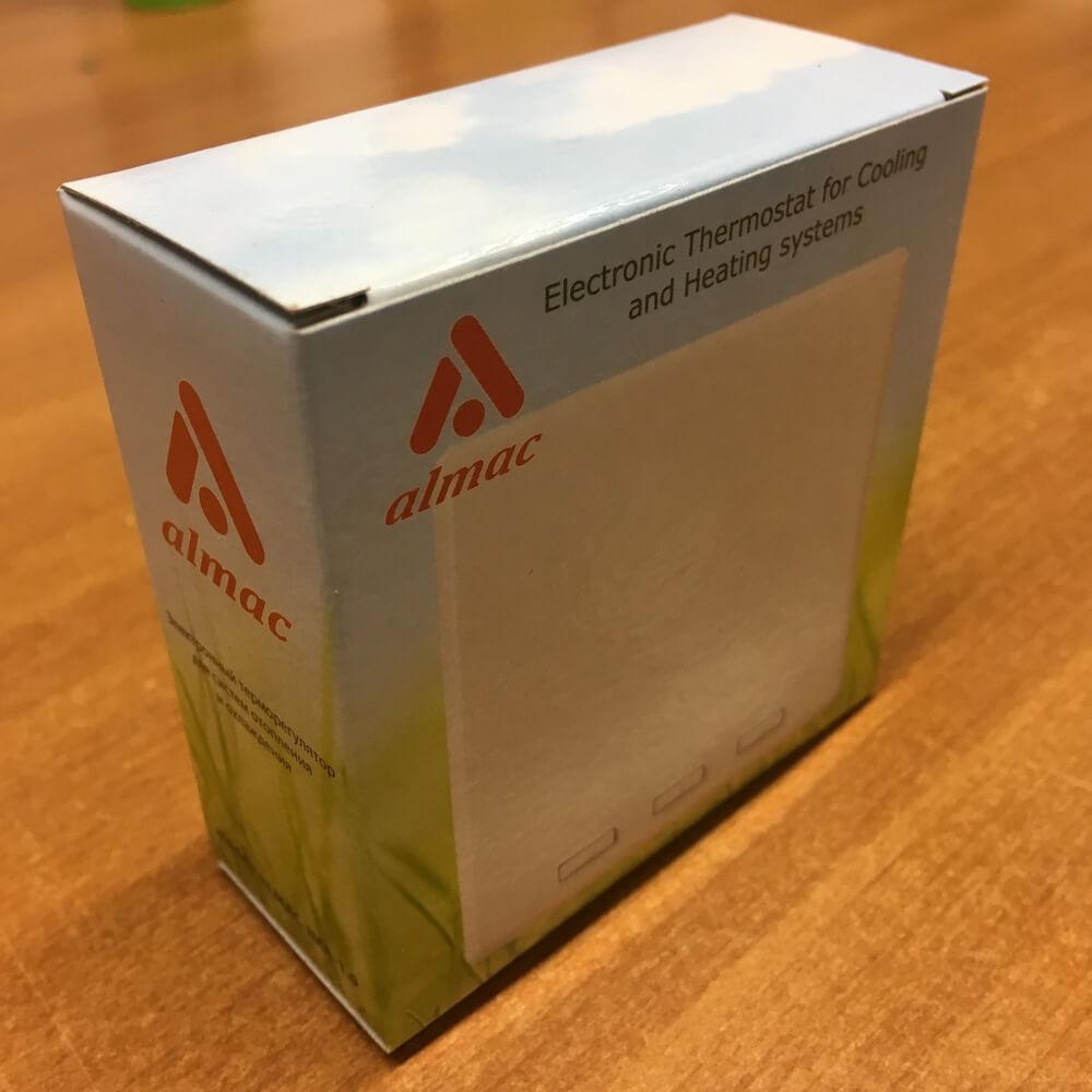 Упаковка терморегулятора Almac IMA-1.0.