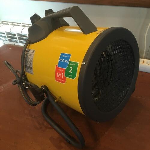 Внешний вид электрической тепловой пушки BALLU BHP-P2-3