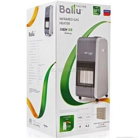 Ballu BIGH-55 в упаковке