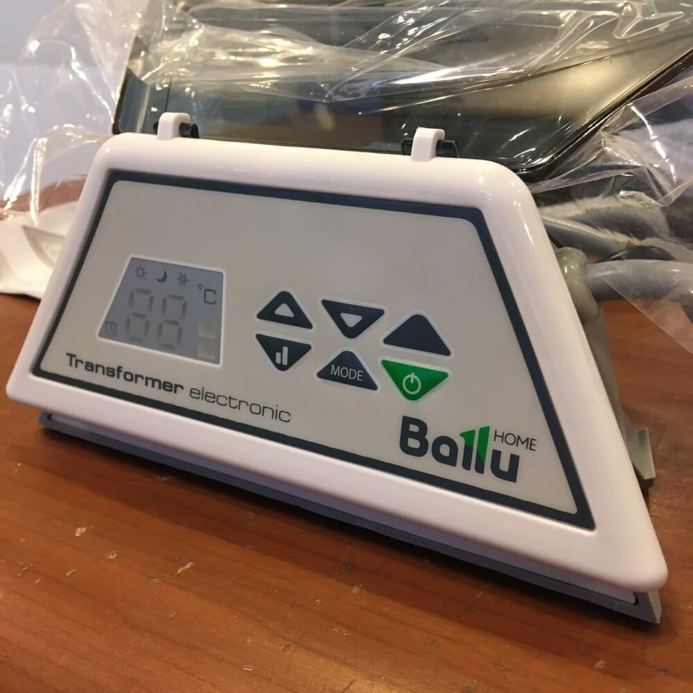 Комплектация Ballu Transformer Electronic BCT/EVU-E