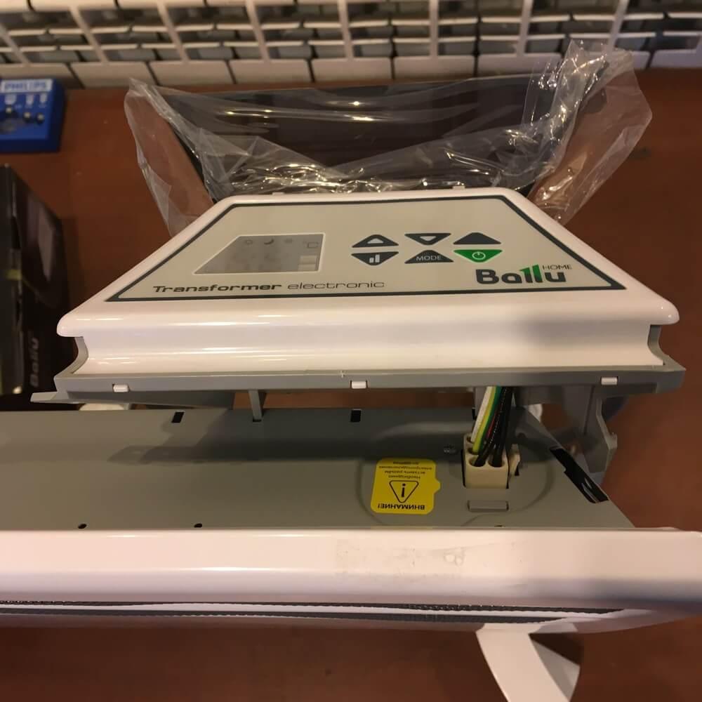 Установка в разъём Ballu Transformer Electronic BCT/EVU-E