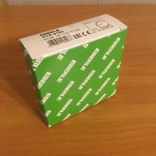 Упаковка терморегулятора Eberle RTR – E9164.