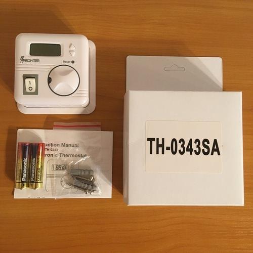 Комплектация терморегулятора Frontier TH-0343SA