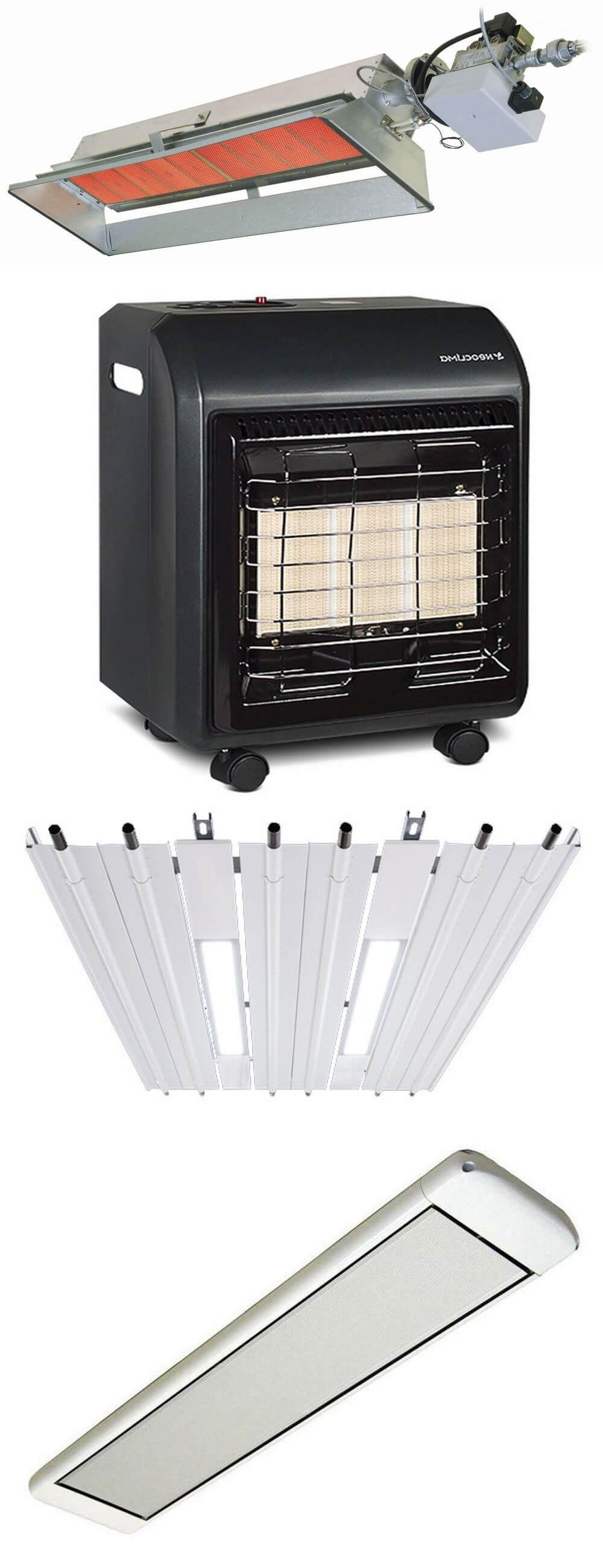 Разновидности инфракрасных нагревателей по виду топлива