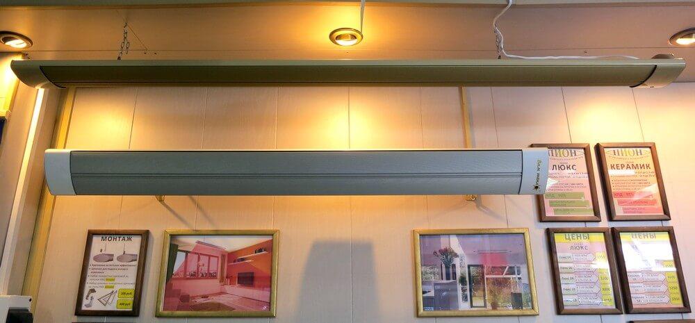 Экономичность потолочных инфракрасных электрообогревателей в зависимости от материала