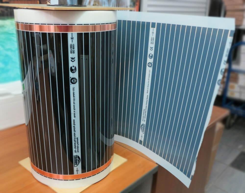 Инфракрасная термопленка как инфракрасный обогреватель