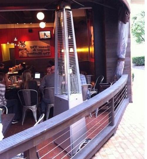 Мастер Лето (пирамида) в ресторане