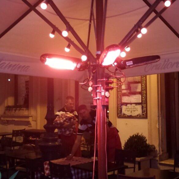 MO-EL Lucciola в летнем кафе