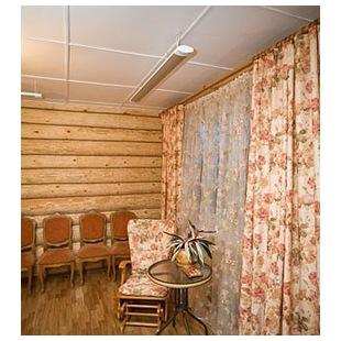Отопление нежилого помещения потолочным обогревателем ПИОН Керамик 08