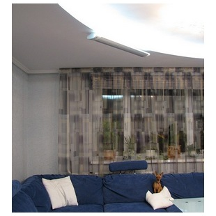 Отопление гостиной в квартире инфракрасным обогревателем ПИОН Керамик 08