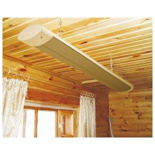 Отопление загородного дома инфракрасным потолочным обогревателем ПИОН Люкс 08