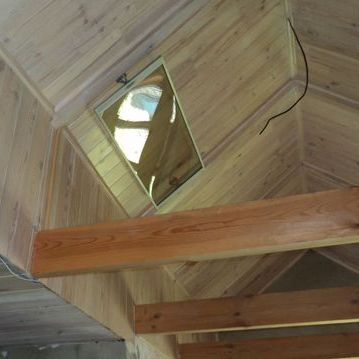 Отопление загородного дома инфракрасными обогревателями ПИОН Thermo Glass П-04