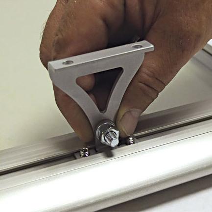 Штатное потолочное крепление обогревателей ПИОН Thermo Glass П-06