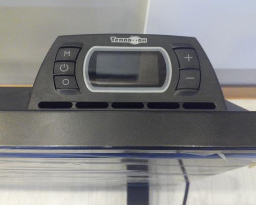 Терморегулятор в Теплофоне Binar