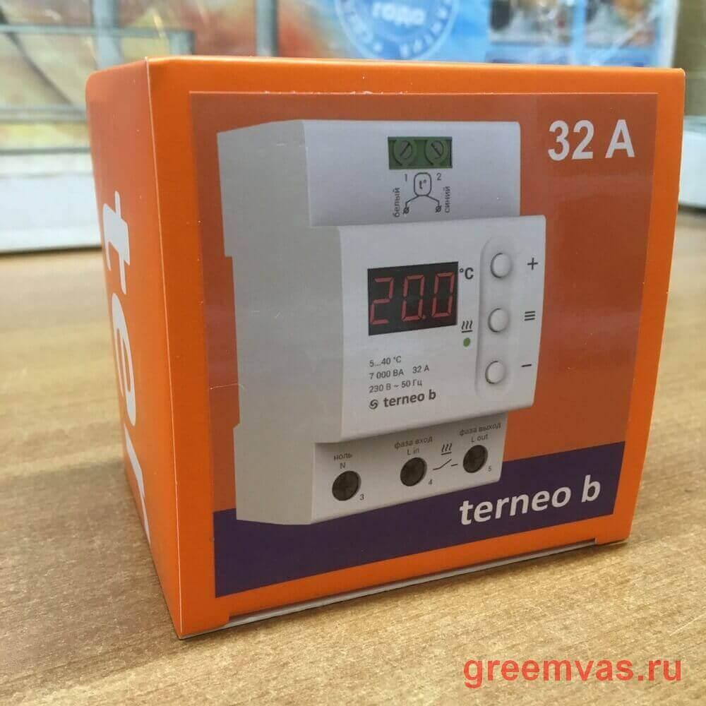 Управление Terneo b