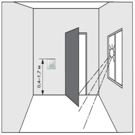 Установка терморегулятора Terneo rol