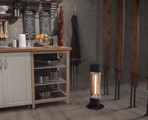 Карбоновый обогреватель Veito CH1200LT на кухне